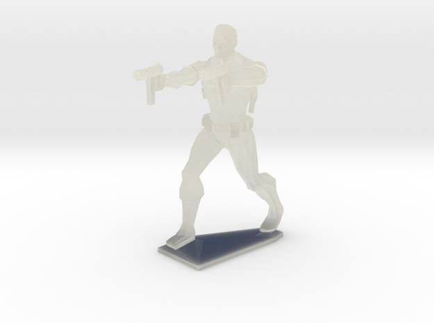 Sports Vigilante 3d printed