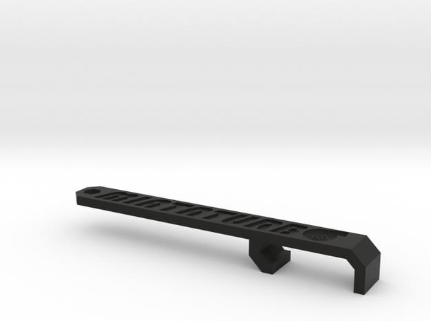 Miata Turbo Keychain - Design B - Sunken 3d printed