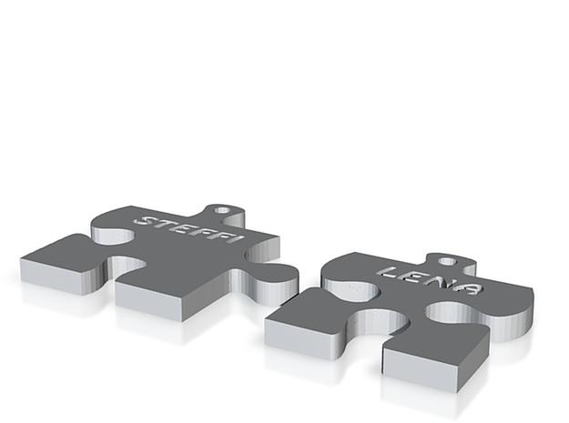 Puzzelteile Steffi 3d printed