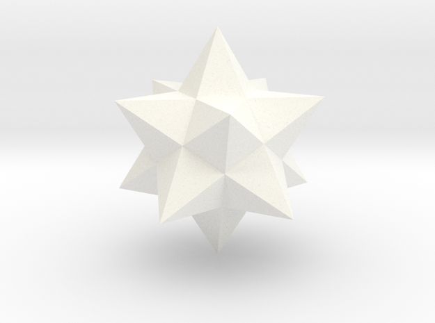 Small stellated dodecahedron 3d printed