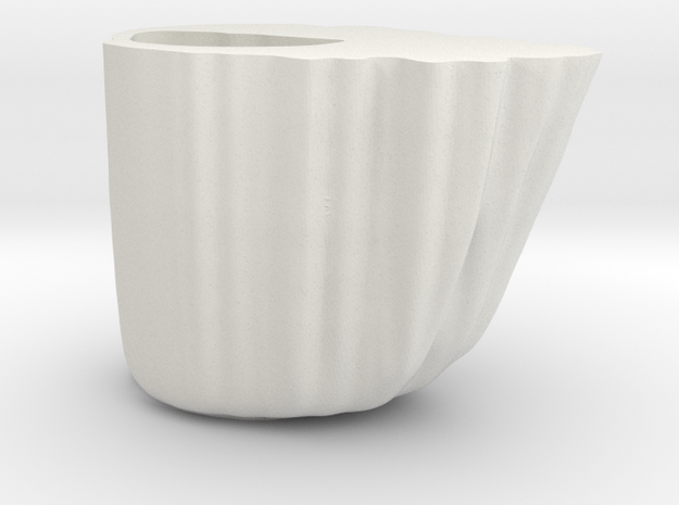 Yupo Cauliflower 10 in White Natural Versatile Plastic
