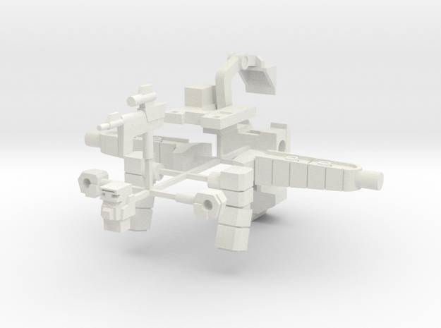C. Scavenger-tron in White Natural Versatile Plastic