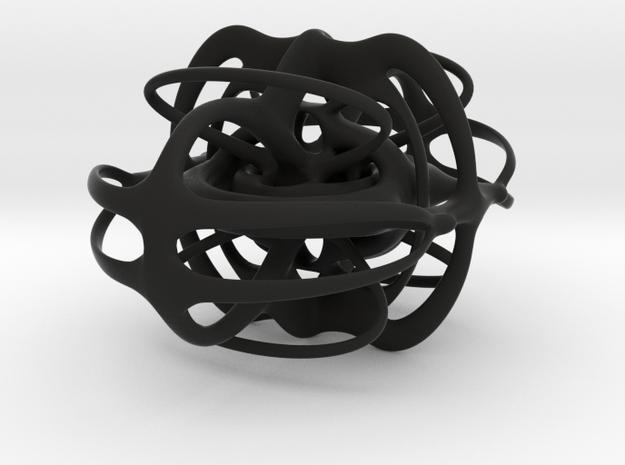 sculpture 1 in Black Natural Versatile Plastic