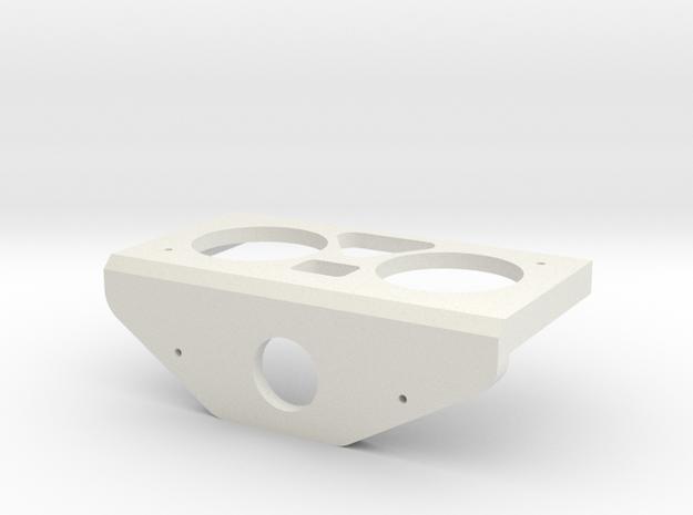Sonar Servo Mount in White Natural Versatile Plastic