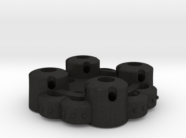 Clover Connector - Ornamental (45 Degrees) 3d printed
