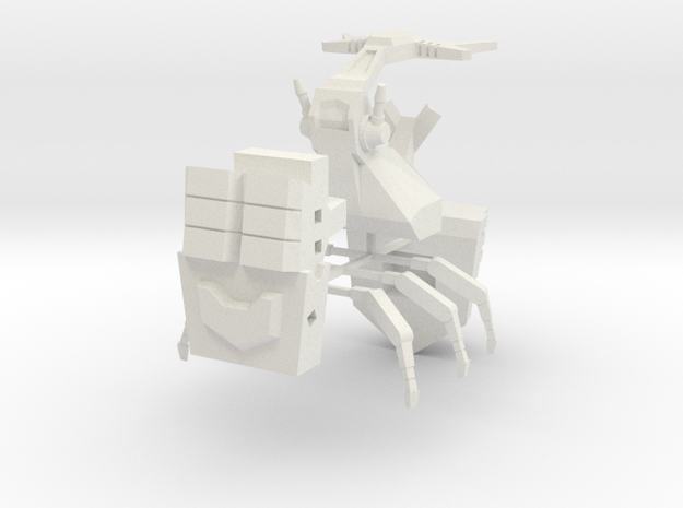 Barrage Beetle 3d printed