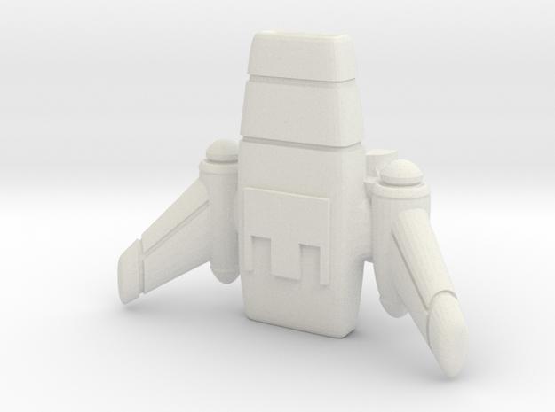 Starlord cargopod in White Natural Versatile Plastic