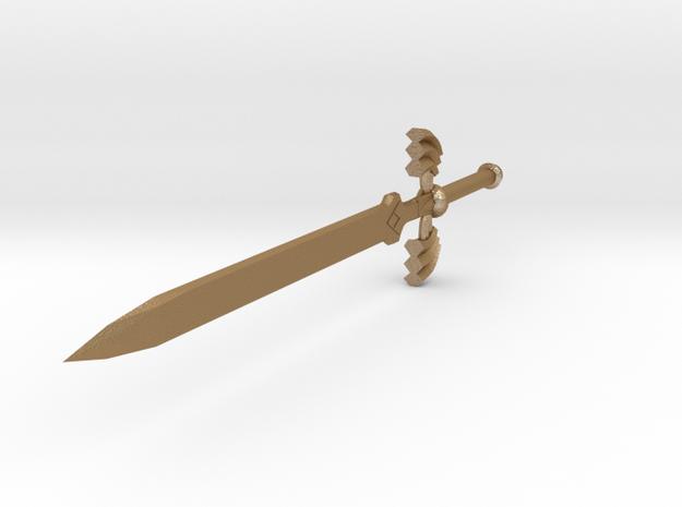 Mastersword Miniature 3d printed