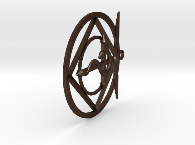 Full Metal Alchemist Emblem Keychain 3d printed