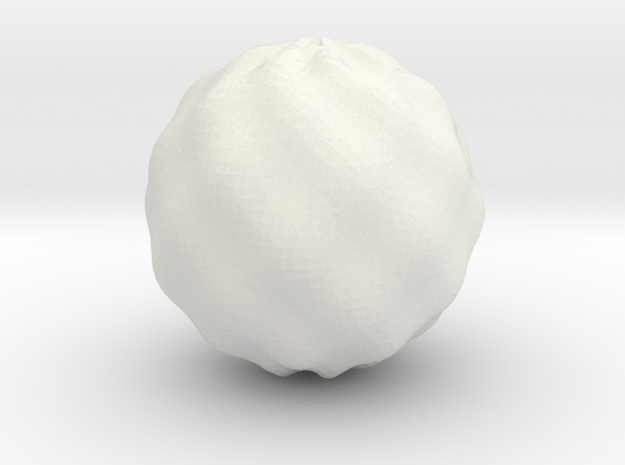 Juliabulb-min8 in White Natural Versatile Plastic