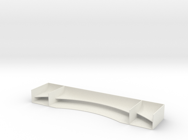 TC Race Wing V1 in White Strong & Flexible