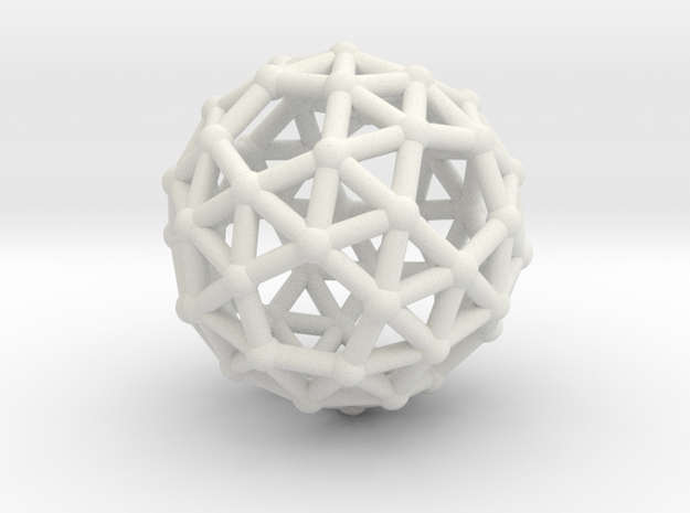 Snub dodecahedron (chiral) in White Strong & Flexible