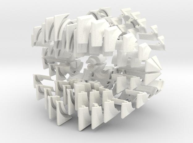 Overlap Cube 2x2x23 3d printed