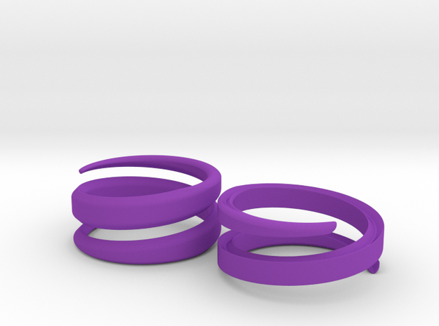 (Fe)male Ring 18mm 3d printed