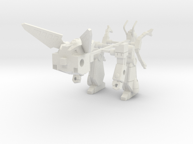 Ransack-tor - Bot mode in White Natural Versatile Plastic