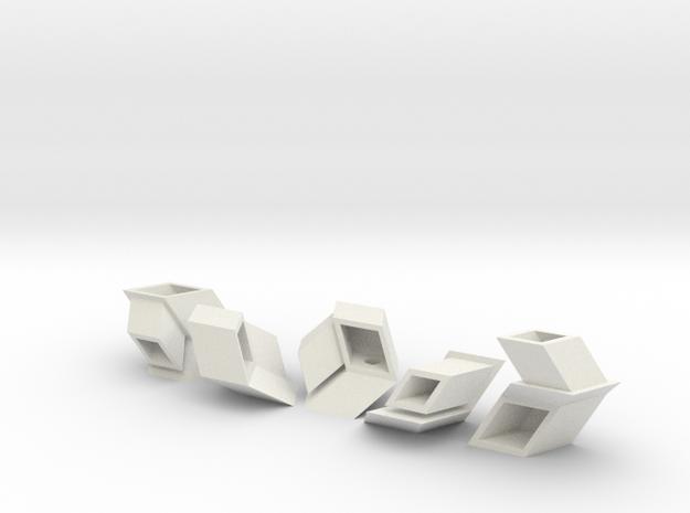 Albis Twist in White Natural Versatile Plastic