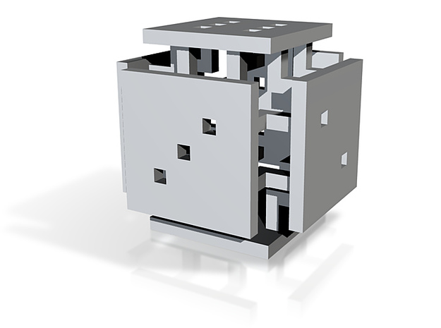 platform d6 3d printed