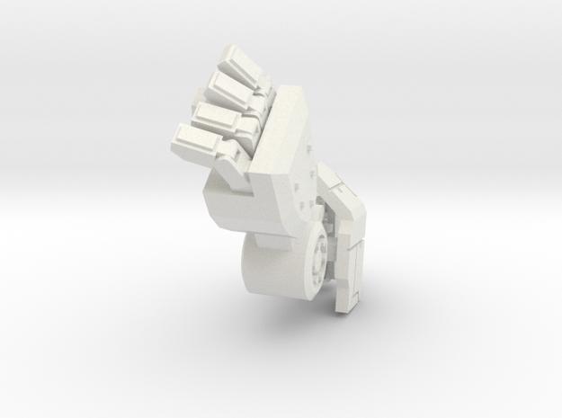 Robot arm 80% pose 2 in White Natural Versatile Plastic