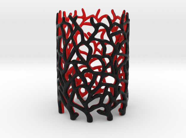 Coraline Tealight 2 Color Sandstone in Full Color Sandstone