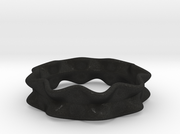 Ruffle Ring 3d printed