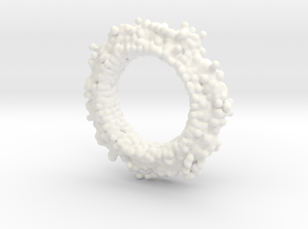 Anticlast for brooch 3d printed