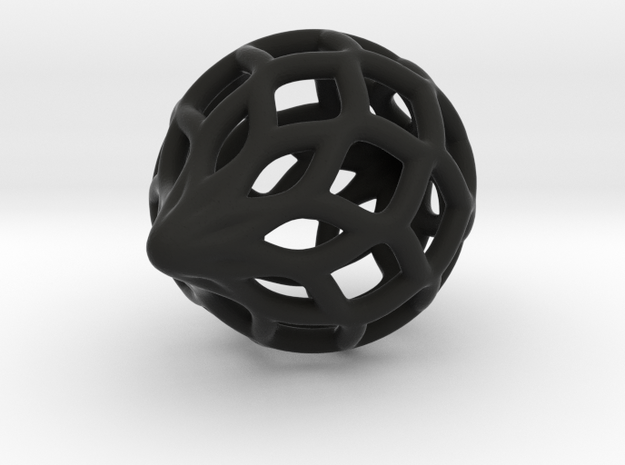 Heavier Netted Ornament 3d printed