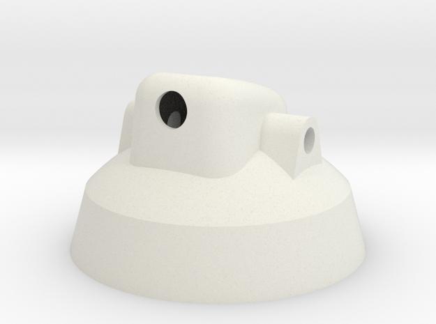 Cap_Test_Thinner 3d printed