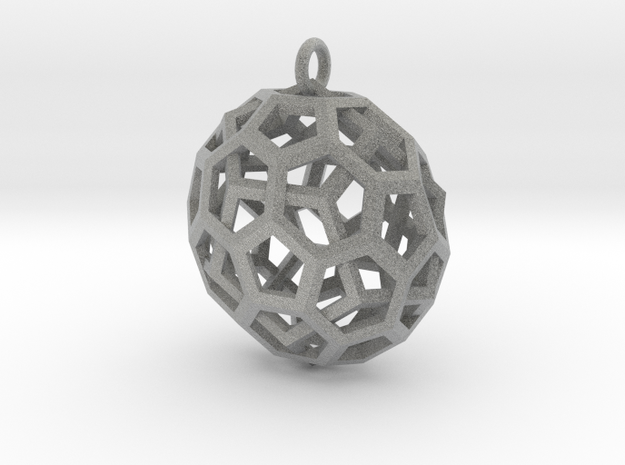 Quasi Duality Pendant 3d printed Description