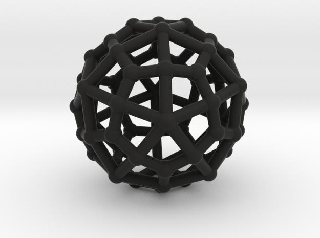 Deltoidal hexecontahedron 3d printed