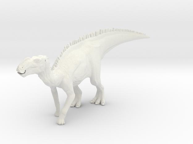 Gryposaurus Dinosaur Large HOLLOW in White Natural Versatile Plastic