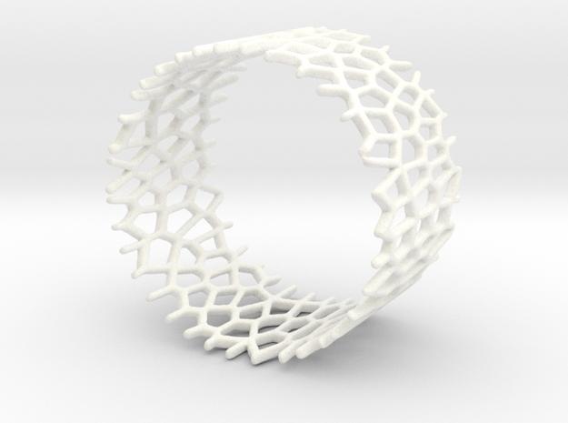 Voroni Napkin Ring 3d printed