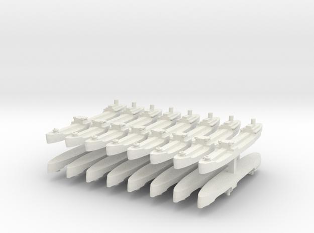 9 T2 Transport 1:6000 x16 3d printed