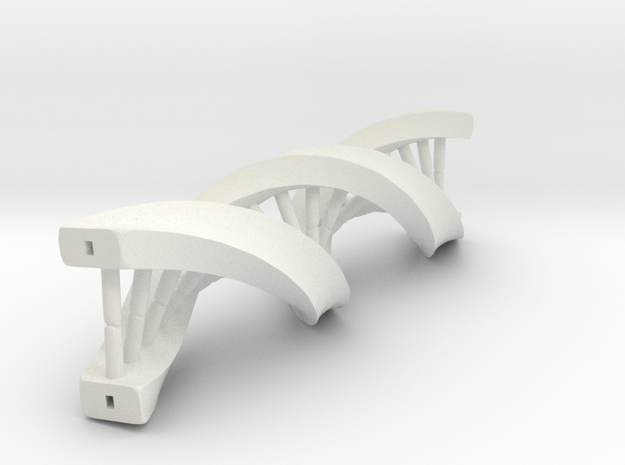 Desktop DNA in White Natural Versatile Plastic