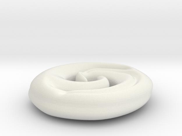 Koru in White Natural Versatile Plastic