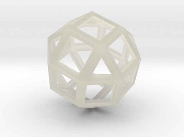 Rhombicuboctahedron in Transparent Acrylic