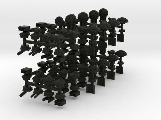 Mulcien Ship Parts 3d printed