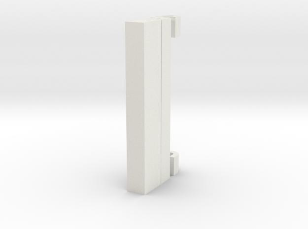 DETAIL1 in White Natural Versatile Plastic