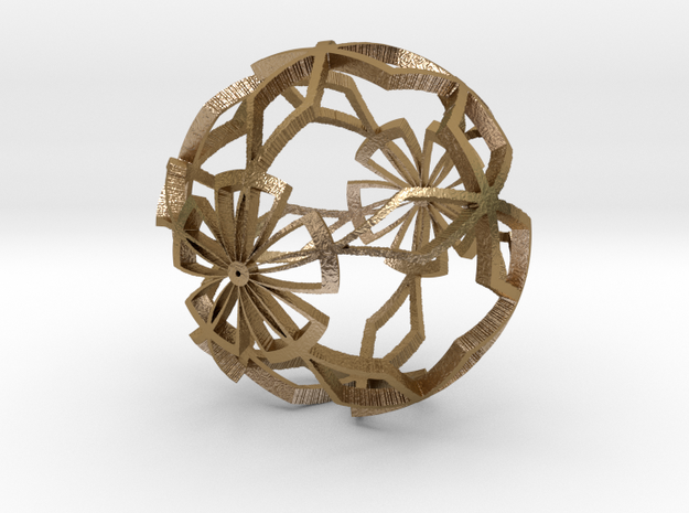 Moroccan Ball 6 3d printed