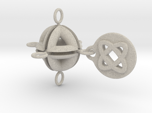 PLANETARY KEYRING #3 3d printed Description