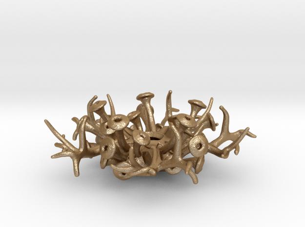 Coral Pendant 4cm 3d printed