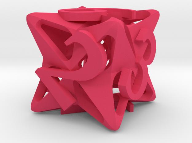 Pinwheel Die6 3d printed