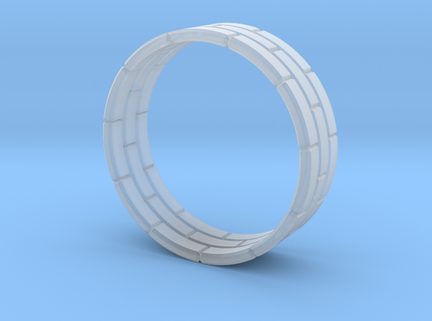 Brick Ring 3d printed