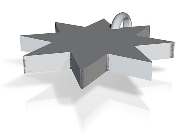 8starCharm 3d printed
