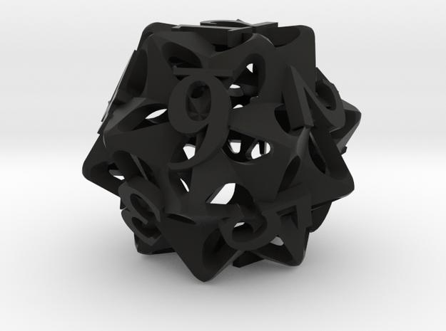 Pinwheel Die12 3d printed