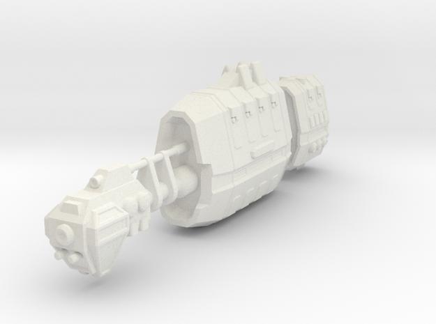 USASF Battlecruiser in White Natural Versatile Plastic