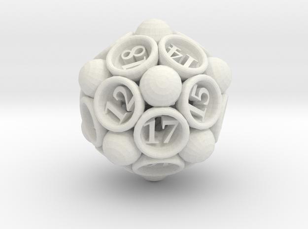 Spore Die20 3d printed