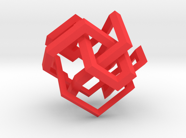 Gübis Knot 3d printed