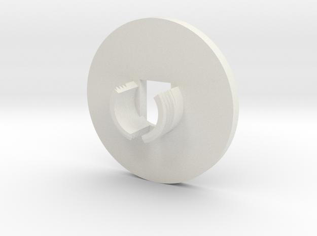 d in White Natural Versatile Plastic