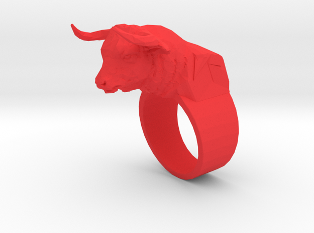 The Minotaur Ring 3d printed