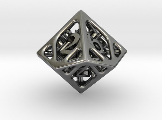 Cage Die10 3d printed